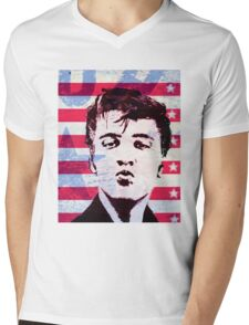 Elvis portrait nº5 Mens V-Neck T-Shirt