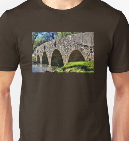 Historic Meadows Road Bridge Unisex T-Shirt