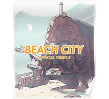 Steven Universe - Beach City's Crystal Temple Poster