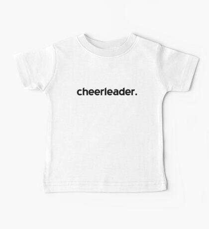 Cheerleader Baby Tee