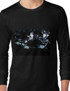 Dark view of the Sydney Opera House Long Sleeve T-Shirt