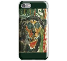 Edvard Munch - Head Of A Dog 1930 iPhone Case/Skin