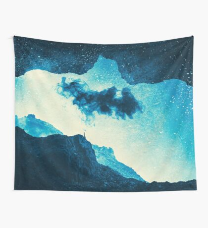 Spaces IX - Imaginary World Wall Tapestry