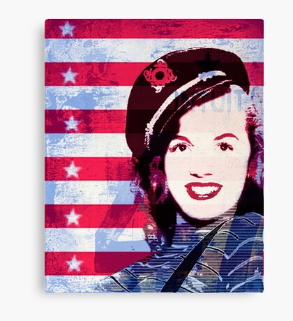 Marilyn portrait nº2 Canvas Print