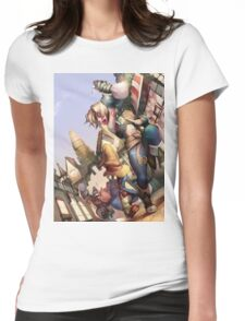 Vivi & Yitan Womens Fitted T-Shirt
