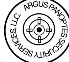 Argus Panoptes Security Services Sticker
