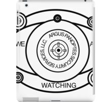 Argus Panoptes Security Services iPad Case/Skin