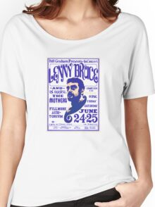 Lenny Bruce plays the Fillmore 1966 Women's Relaxed Fit T-Shirt