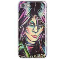 Punk Rock Queen  iPhone Case/Skin