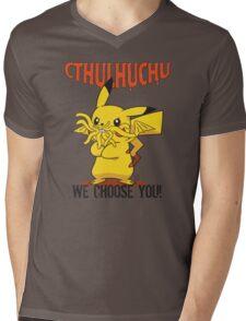 Cthulhuchu Mens V-Neck T-Shirt