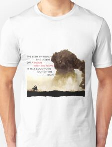 Horse with no name - Colossus Unisex T-Shirt