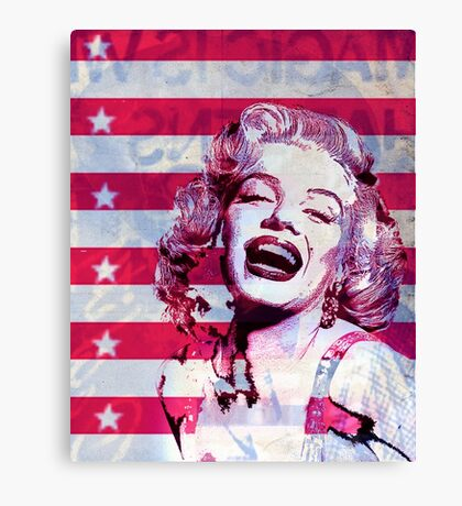Marilyn portrait nº3 Canvas Print