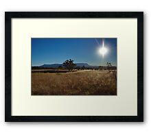Capertee Valley Framed Print