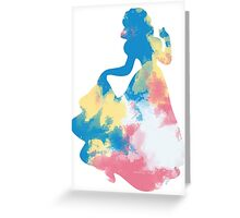 Character Inspired Silhouette  Greeting Card