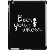 Boo! In Casper iPad Case/Skin
