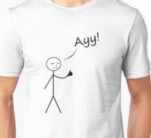 Stick Man Drawing Unisex T-Shirt