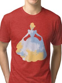Character Inspired Silhouette  Tri-blend T-Shirt