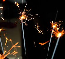 Sparklers by Maggie Hegarty