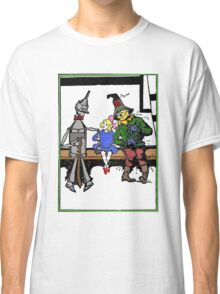 Tin Man, Dorothy, and Scarcrow Classic T-Shirt