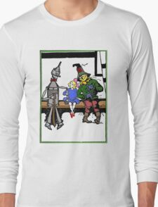 Tin Man, Dorothy, and Scarcrow Long Sleeve T-Shirt