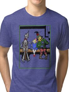 Tin Man, Dorothy, and Scarcrow Tri-blend T-Shirt