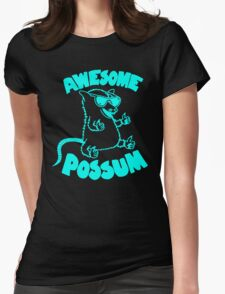 Mouse Awesome Womens Fitted T-Shirt