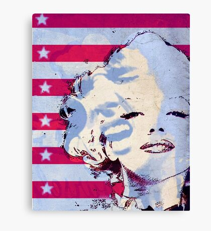 Marilyn portrait nº5 Canvas Print