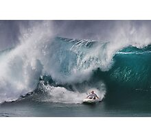 John John Florence At Billabong Pipe Masters In Memory of Andy Irons 2011 Photographic Print