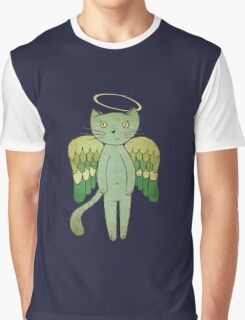 Do good cats go to heaven? Graphic T-Shirt