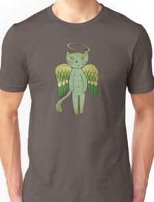 Do good cats go to heaven? Unisex T-Shirt