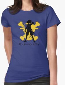 Monkey D Luffy Womens Fitted T-Shirt