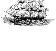 Victorian Era Ship - 3 by cartoon