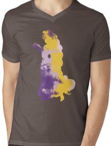 Character Inspired Silhouette  Mens V-Neck T-Shirt