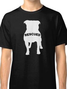 My Favorite Breed Is Rescued Classic T-Shirt