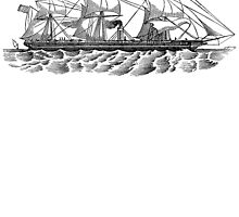 Victorian Era Ship - 4 by cartoon