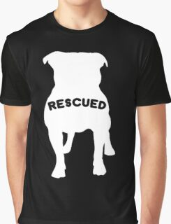 My Favorite Breed Is Rescued Graphic T-Shirt