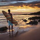 Surfer's Contemplation by Fred McKie