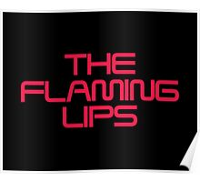 the flaming lips logo Poster