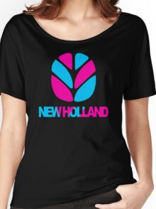 New Holland Tractor Women's Relaxed Fit T-Shirt