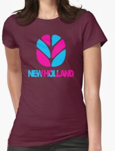 New Holland Tractor Womens Fitted T-Shirt