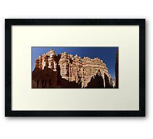 Navajo Loop Trail Panorama Framed Print