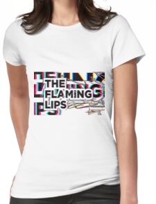 THE FLAMING LIPS Womens Fitted T-Shirt