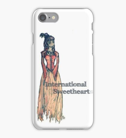 International Sweethearts iPhone Case/Skin