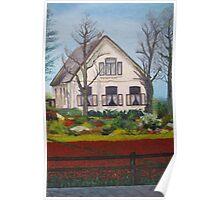Tulip Cottage Poster