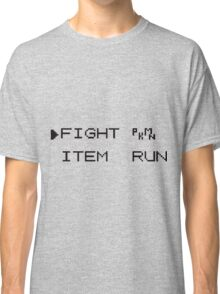 Battle Text Classic T-Shirt