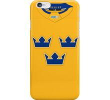Sweden World Cup of Hockey 2016 Away Jersey iPhone Case/Skin