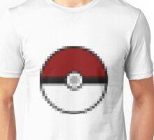 Pixelated Pokeball Unisex T-Shirt