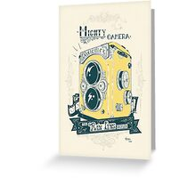 Mighty Camera Greeting Card
