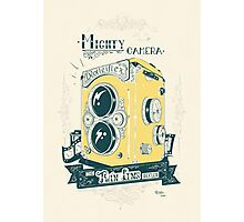 Mighty Camera Photographic Print