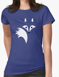 Fox Lines Womens Fitted T-Shirt